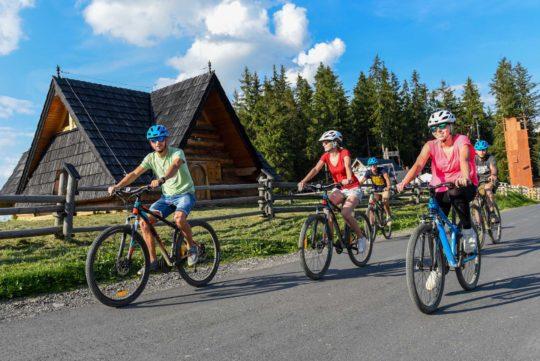 W Tatry na rowerze!